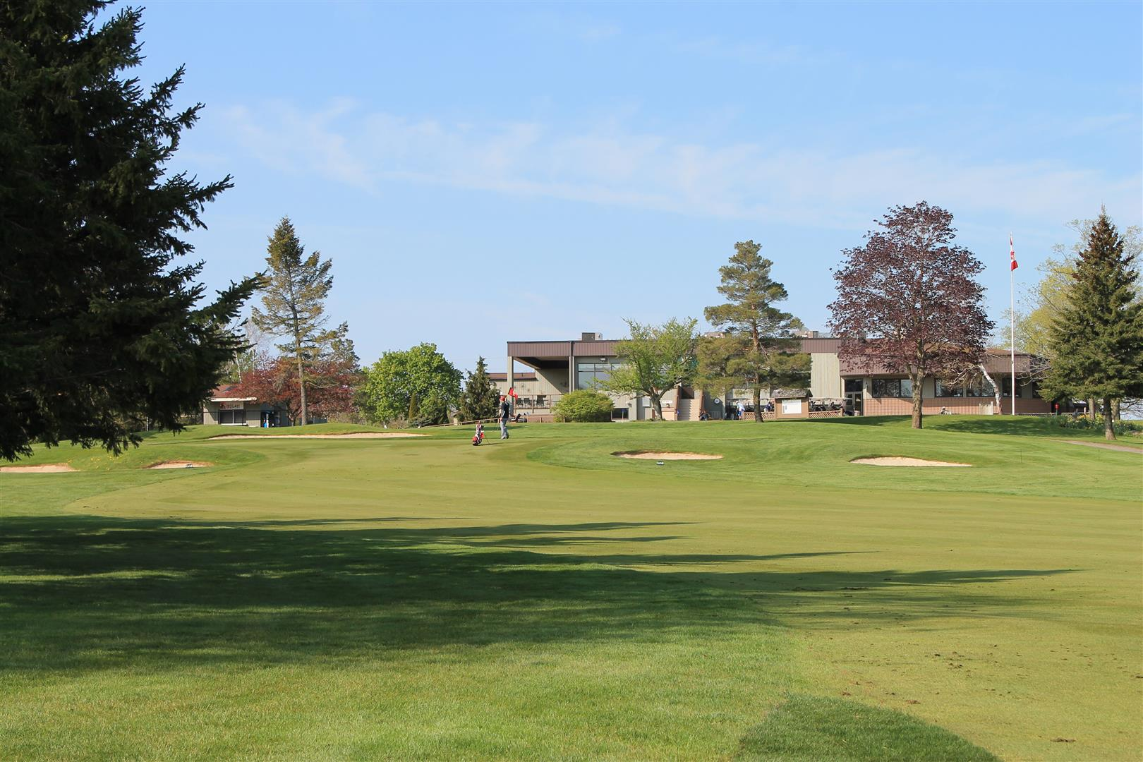 9th hole from the 100 yard mark Victoria Park East Golf Club Guelph