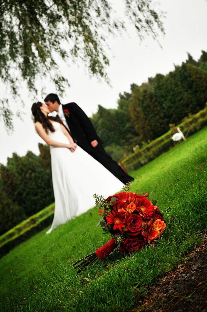 Newlyweds Having wedding at Victoria Park Golf Course in Guelph
