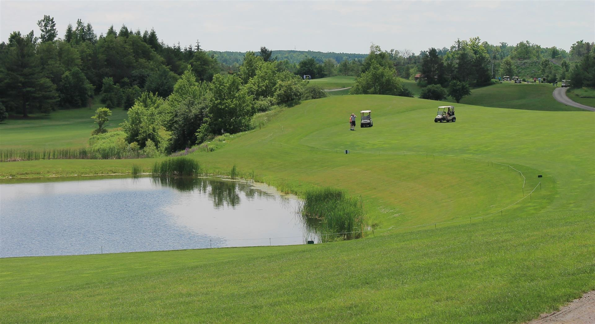 Lakes Hole 8 at Victoria Park Valley Golf Club Guelph