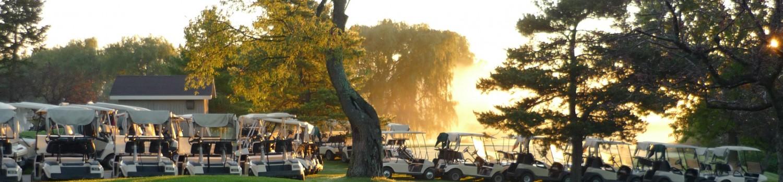 golf course wedding