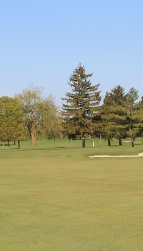 12th hole from the 100 yard mark Victoria Park East Golf Club Guelph
