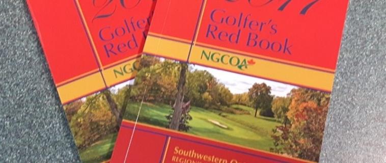2017 Golfer's Red Book