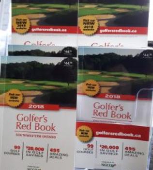 2018 Golfer's Red Book