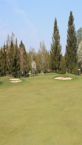 3rd hole from the 100 yard mark Victoria Park East Golf Club Guelph