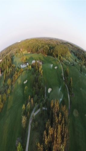 Aerial View of Victoria Park Valley Guelph