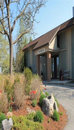 Banquet Hall Entrance at Victoria Park East Golf Club Guelph