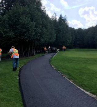 Cart Path Improvements