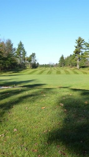 Valley 9th Green at Victoria Park Valley Golf Club Guelph