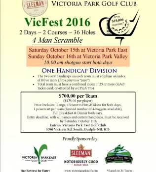 VicFest Fall Scramble 2016